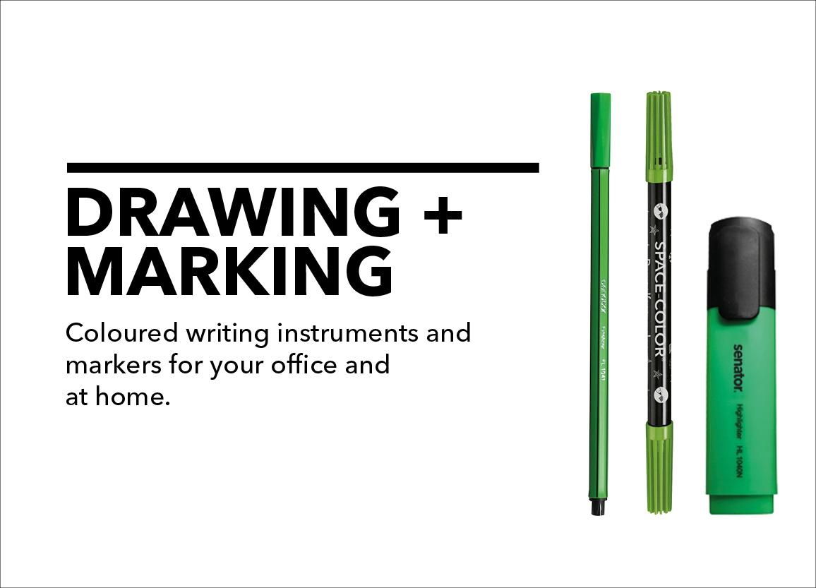 drawing + marking
