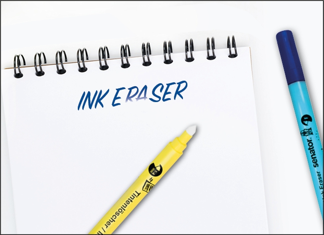 Ink eraser