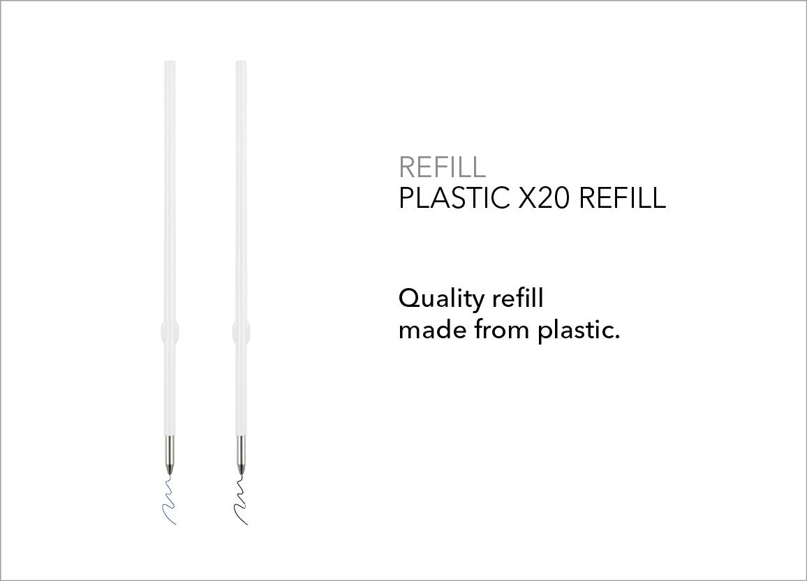 Plastic X20 Refill
